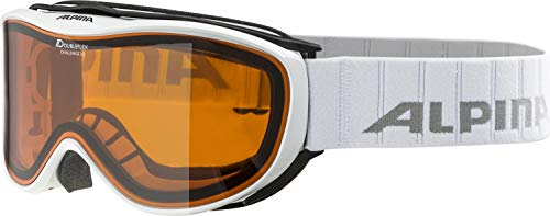 Alpina Skibrille Challenge 2.0 DH White, One Size