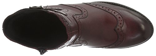 Remonte R6470, Bottes Chelsea Femme Rouge (Chianti/Wine / 35)
