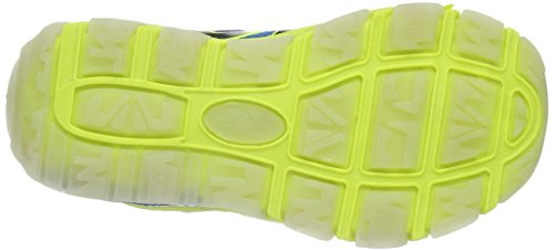 LicoFlash VS - Scarpe da Ginnastica Basse Bambino Giallo (Gelb (lemon/schwarz/blau))