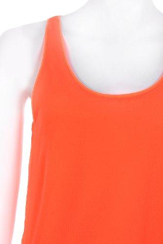 Go Tendance Damen Top Orange - Orange