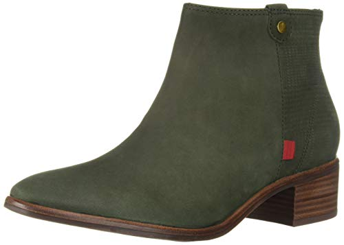 MARC JOSEPH NEW YORK Damen Womens Leather Made in Brazil Lenox Bootie Stiefelette, Olive Nubuck/Plaid, 40 EU -