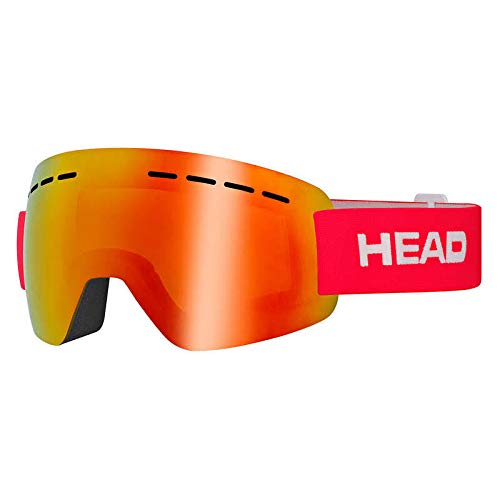 HEAD Solar FMR Skibrille, Red, M