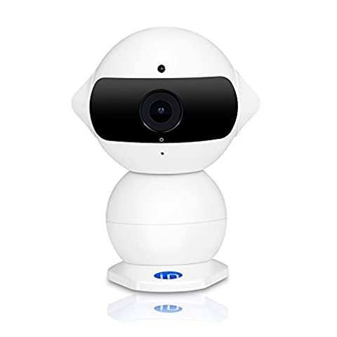 IdeaNext 960P IP Camera Mini Robot P2P HD Wireless Baby Monitor with WiFi Hotspot Car DVR Driving Recorder Real-time Remote via iPhone iPad Android Phone IR Night Vision
