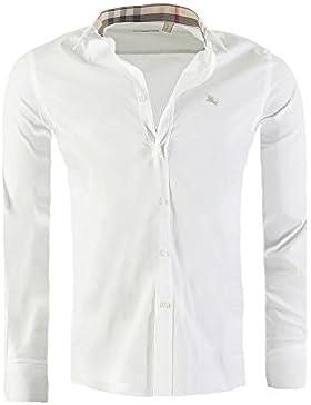 Camicia BURBERRY BRIT Mens slim fit, in diversi colori