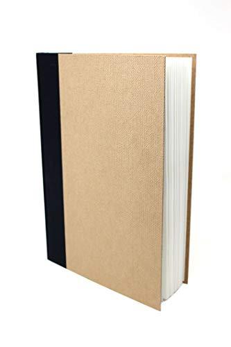 Artway Enviro - Bloc con encuadernado de tipo libro - Papel cartridge 100% reciclado - Tapas de aglomerado - 170 gsm - 48 hojas - Retrato A4