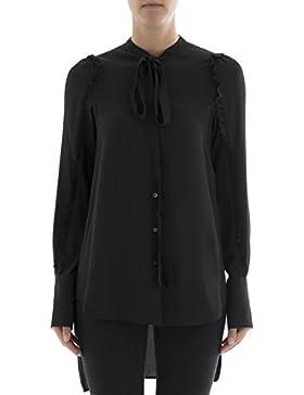 N°21 Camicia Donna G02151119000 Acetato Nero