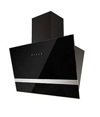 respekta design kopffreie schr ghaube dunstabzugshaube abzugshaube wandhaube glas 60 cm schwarz. Black Bedroom Furniture Sets. Home Design Ideas