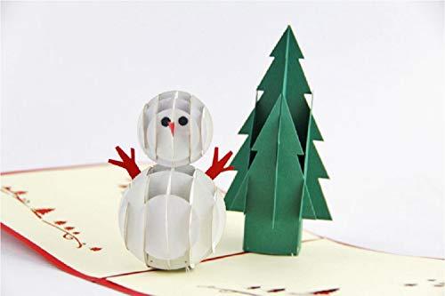 Tarjeta de Navidad hecha a mano de BC Worldwide Ltd, tarjeta de...
