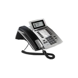 AGFEO System Telephone ST 40 S0 - telephones (Silver, LCD, Monochrome)