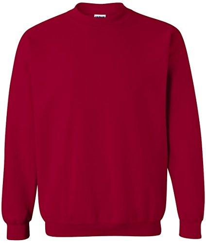 Gildan - Sweatshirt - Femme Cardinal Red