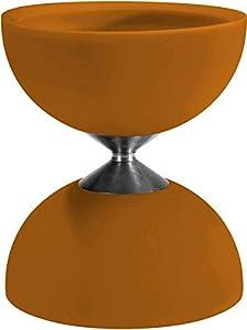 Eureka 515731 Acrobat 105 - Diábolo de Goma, Color Naranja