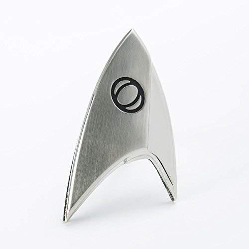 Unbekannt Quantum Mechanix Abysse Corp_BIJQMX002 Star Trek - Abzeichen-Badge: Sciences, Mehrfarbig (Split-screen-tv)