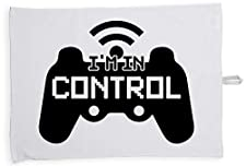 Hippowarehouse I'm In Control Gamer JokePrinted Tea Towel Dish Cloth Kitchen accessory 50cmx70cm 100% Cotton