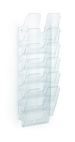 Durable 1700008401 Prospektspenderset (Flexiplus 6, A4, 247 x 745 x 100 mm) 1 Set transparent