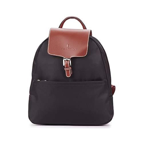 Hexagona Paris Petit sac a dos (171246) - 0120 Noir/Marron - Taill Unique
