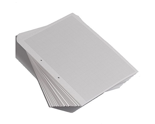 RHINO Notizblock A4 Sichtmappe G1:5:10 Graph (500 Stück) aus Papier