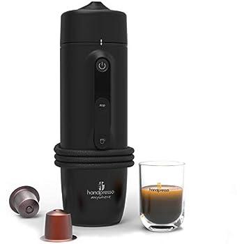 Handpresso 48309: cafetera portátil de expreso de cápsula, 120 W, 0,05 litros, negra