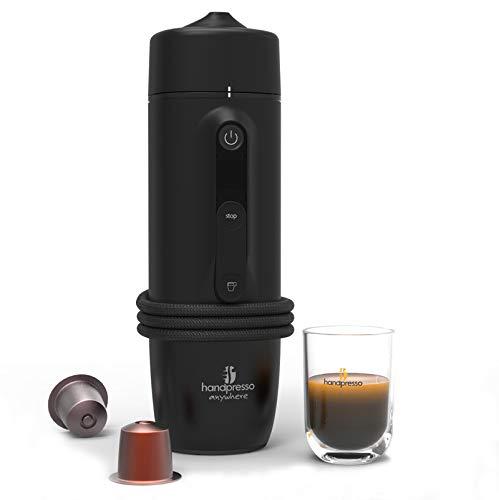 Handpresso 48309Macchina del caffè, a capsule, per auto, 120W, 0,05L, Nero