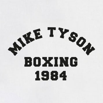 TEXLAB - Tyson Boxing - Damen T-Shirt Asphalt