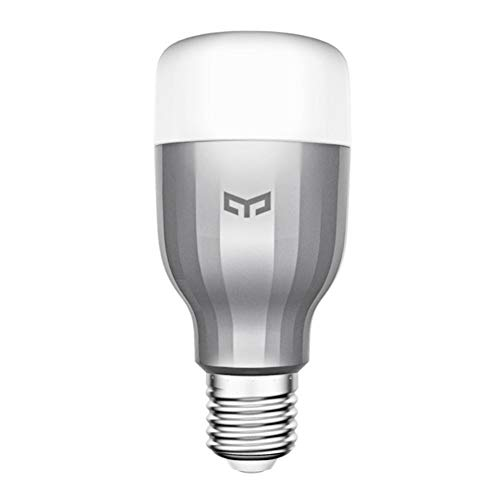 XIAOMI Smart light bulb, XIAOMI Yeelight color intelligent light bulb LED adjustable light bulb with APP remote control E27