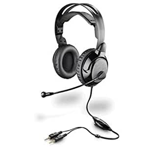 Plantronics Audio 365Hardcore gamers Oversized Micro Stereo Hifi Headset for Voice Recognition