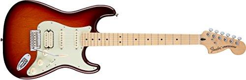 Fender 0147202352Deluxe Stratocaster HSS Ahorn Griffbrett E-Gitarre-Tobacco sunburst-p tobacco sunburst