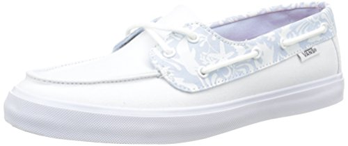 Vans Chauffette Sf, Baskets Basses Femme Blanc (Tk Sea Life/True White)