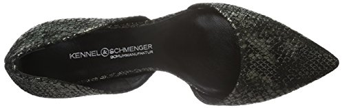 Kennel und Schmenger Schuhmanufaktur - Selma, Scarpe col tacco Donna Nero (Schwarz (black 360))