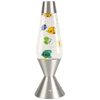 Lava Aquarium Fish Lamp Amazon Co Uk Toys Amp Games