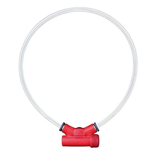 Red Dingo lumitube beleuchtetes Sicherheits-Halsband (Red Dingo-sterne-kragen)