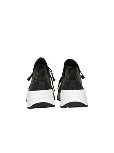 ASH Damen Sneaker Magma mit Muster midnight army black