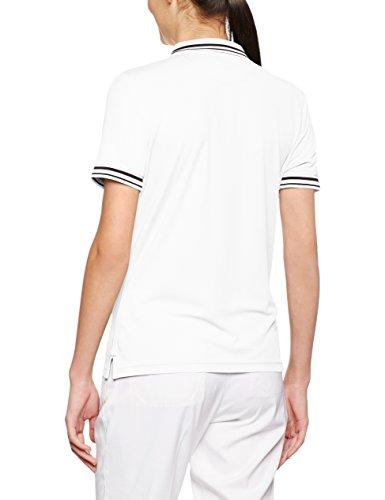 James & Nicholson Polo Donna Bianco (White/Black)