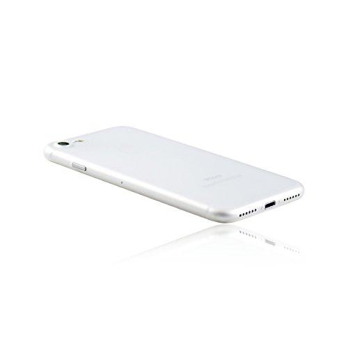 hardwrk ultra-slim Case für iPhone 7 und 8 - solid black - ultradünne Hülle für Apple iPhone in schwarz frost