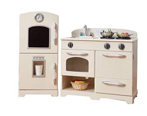 Cocina juguete grande madera blanca TeamsonKidsTD-11413W