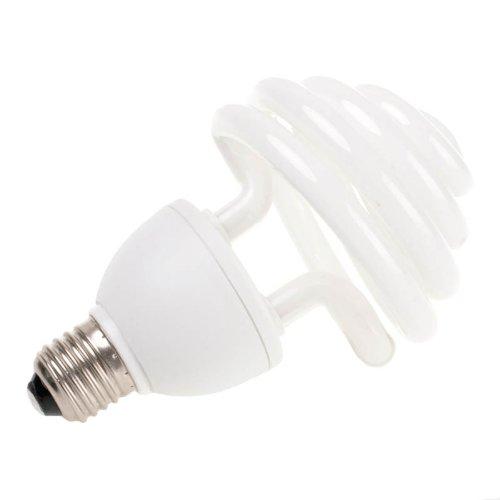 Quenox Tageslichtlampe E27 5000 Kelvin 30 Watt (130 Watt) 1900 Lumen 85 Ra Energiesparlampe Fotolampe Tageslicht Videolampe Videolicht
