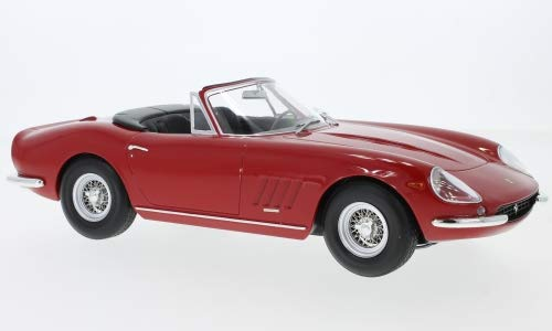 Ferrari 275 GTB/4 Nart Spyder, rot, 1967, Modellauto, Fertigmodell, KK-Scale 1:18