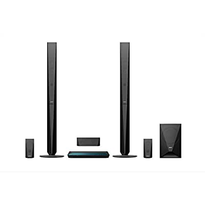Sony BDV-E4100 1000 W Home Cinema System with Tall Speakers (Blue-Ray, 3D, 5.1 Channel Surround Sound, Two-Way Speaker, Wi-Fi and NFC) - Black