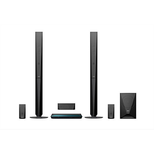 Sony BDV-E4100 Surround Blu-ray Heimkinosystem (5.1. Kanal Sound, Blu-ray Player, DVD Player, Bluetooth, 1000 Watt, 3D) schwarz -