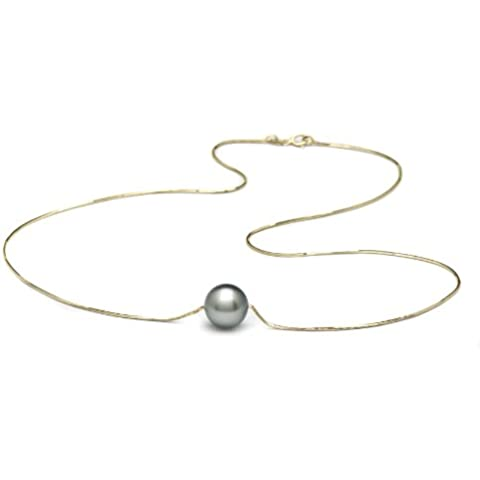 Paradise-perle Tahitian 14 k, con perle coltivate
