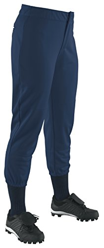 Wilson Damen (niedrigen) schwere Poly Warp Knit Softball Hose, Damen, Navy, Small