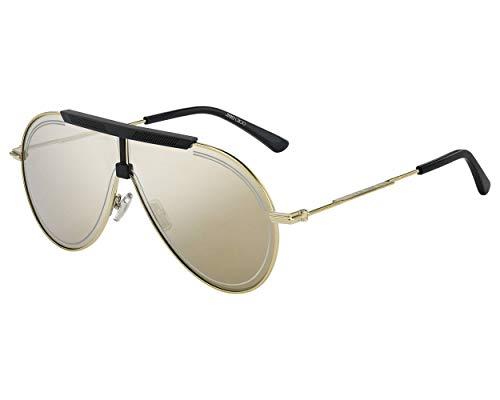 Jimmy Choo Sonnenbrillen (EDDY-S 2F7T4) gold vintage - schwarz matt - grau - gold verspiegelt