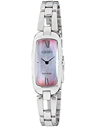 Citizen Analog Mother of Pearl Dial Women's Watch-EX1100-51D
