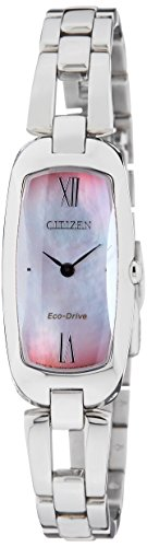 Citizen Eco-Drive Analog Mother of Pearl Dial Women's Watch EX1100-51D