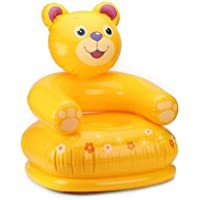 Animal Bear Chair Inflatable Sofa/ Chair��(Yellow)