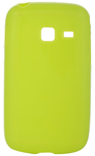 iCandy™ Colourful Thin Matte Finish Soft TPU Back Cover For Samsung Galaxy Y Duos S6102 - Green  available at amazon for Rs.160