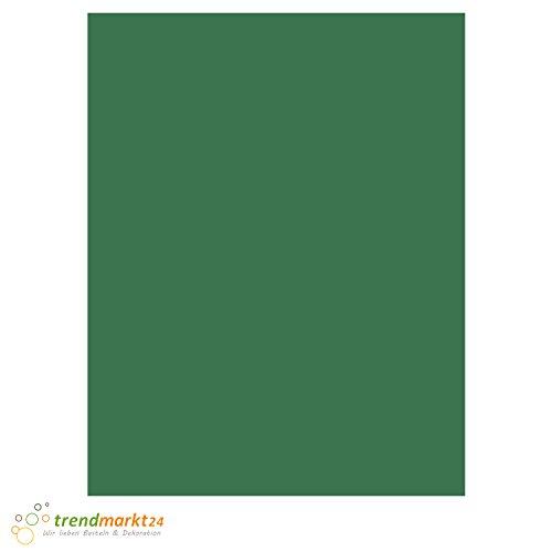 Tonpapier Tannen-Grün ★ DIN A4 130 g/m² | 100 Blatt Set einfarbig 130 g/qm ✓ Bastel-Papier/Ton-Karton-Schul-Papier farbig zum basteln bemalen | Kinder Hochzeit - 8019584