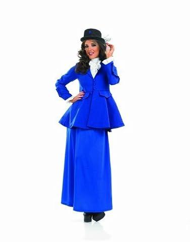 Adulte Fancy Party Dress - VICTORIAN LADY Adult Fancy Dress Costume All