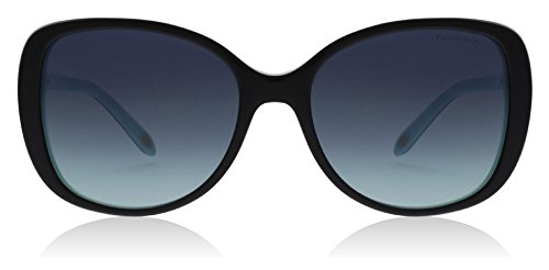 Tiffany & Co. Damen 0TY4121B 80559S 55 Sonnenbrille, Schwarz (Black/Blue/Blueegradient),