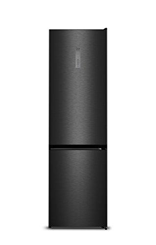 Hisense RB438 N4BF3 Kühl-Gefrier-Kombination (Gefrierteil unten)/A+++/200.3 cm/175 kWh/Jahr/245 L Kühlteil/89 L Gefrierteil/Dual-Tech Cooling: getrennte Kühlkreisläufe/schwarz