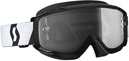 Scott Split OTG LS MX Goggle Cross/MTB Brille schwarz/light sensitive grau works